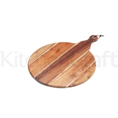 MasterClass Large Acacia Wood Paddle Serving Board
