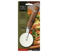 KitchenCraft World of Flavours Italian Pizza Cutter