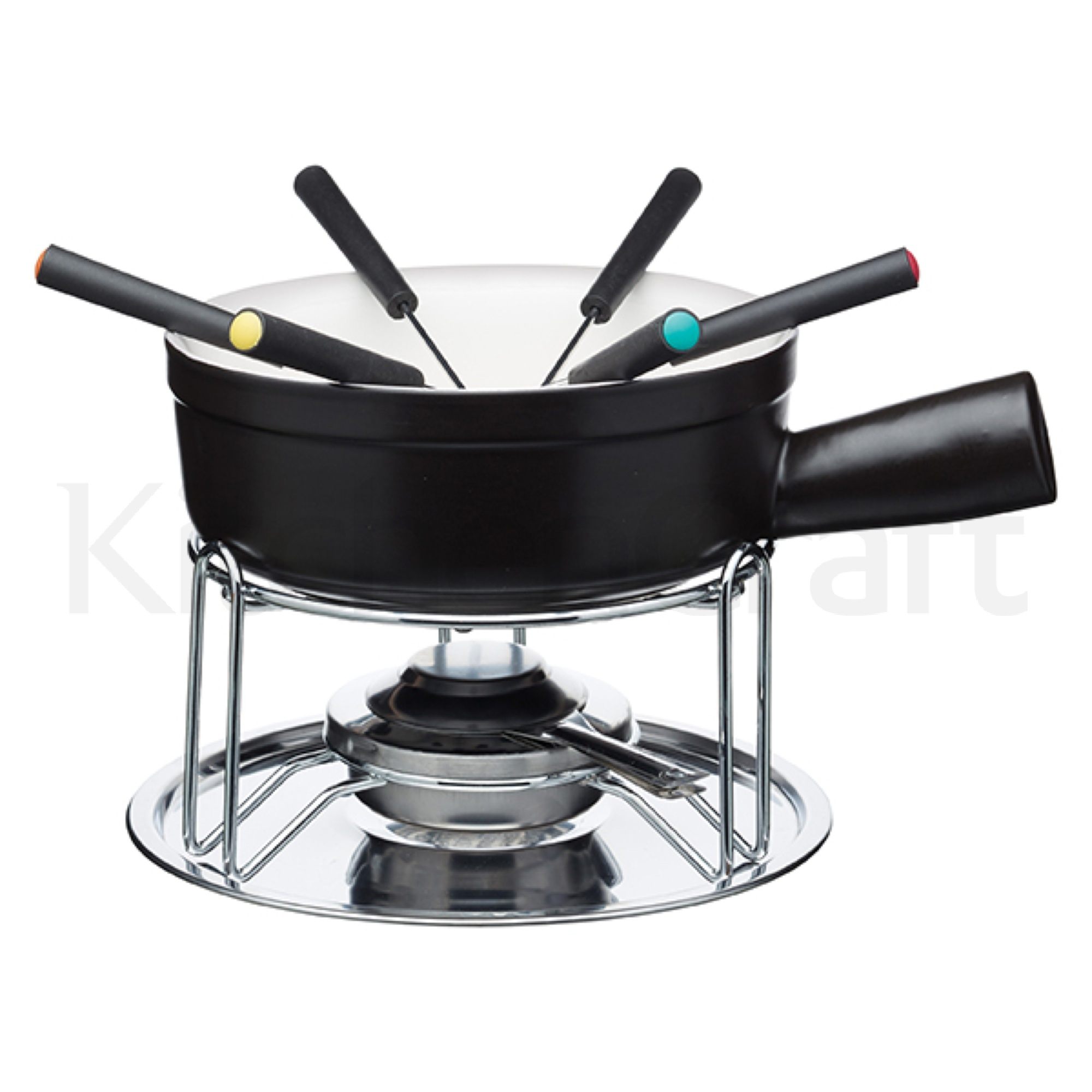 Artesà Ceramic Cheese Fondue Set | Gifts for Him | Gifts by Recipient | Gifts | Products | KitchenCraft