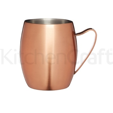 Bar Craft Double Walled Moscow Mule Mug