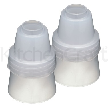 Sweetly Does It Large Plastic Icing Couplers