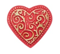 Sweetly Does It Heart Silicone Fondant Mould