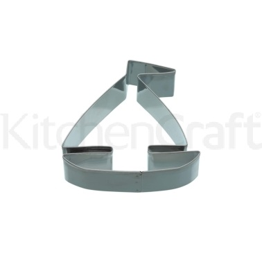 KitchenCraft 8.5cm Boat Shaped Cookie Cutter