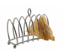 KitchenCraft Chrome Plated Six Slice Toast Rack