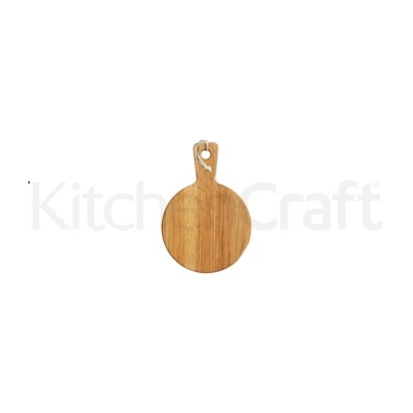 MasterClass Gourmet Prep & Serve Round Oak Paddle Board