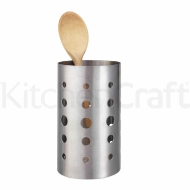 KitchenCraft Stainless Steel Utensil Holder