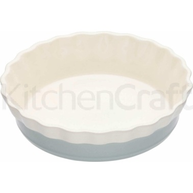 Classic Collection Medium Round Fluted Pie Dish