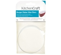 Kitchen Craft Hamburger Maker Wax Discs