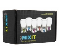 Mix It set di 6 bicchierini