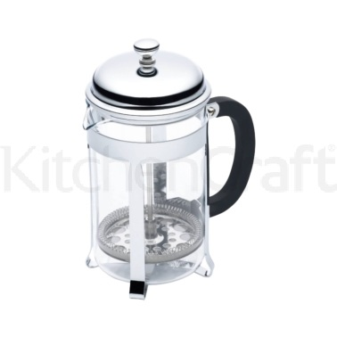 Le'Xpress 6 Cup Chrome Plated Cafetiere