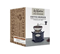 Le'Xpress Antique-Style Hand Coffee Mill (16.5 x 12 x 18.5 cm)