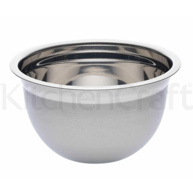 Kitchen Craft Deluxe Stainless Steel 26cm Bowl