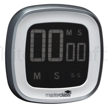 Master Class Digital Touch Screen Timer