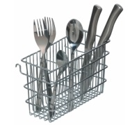 Kitchen Craft Hook Over Cutlery Draining Basket