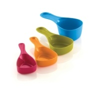Reo 4 Piece Snap Measuring Cup Set