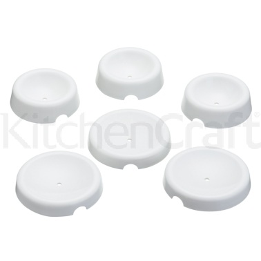 Sweetly Does It Set of 6 Flower Forming Cups