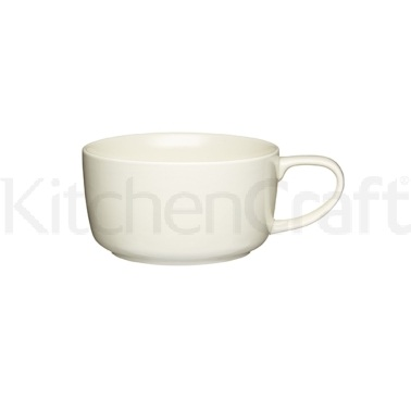 KitchenCraft 600ml Stoneware Cosy Soup Mug