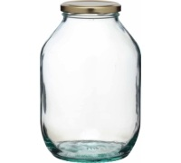 Home Made Traditional ½ Gallon Glass Pickling Jar