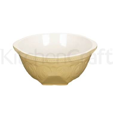 Home Made Traditional Stoneware 29cm Mixing Bowl