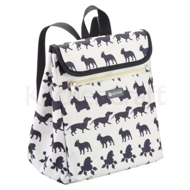 KitchenCraft Dog Print 8 Litre Backpack Cool Bag