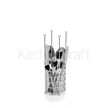 Kitchen Craft Multi Purpose Stainless Steel Drying Caddy