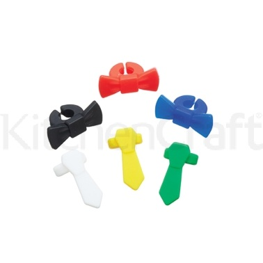 Bar Craft Pack of 6 Silicone Wine Markers