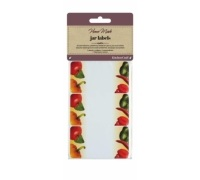Home Made Pack of 30 Jam Jar Labels - Vegetable