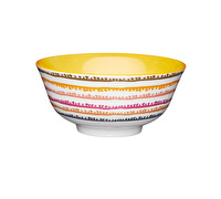 KitchenCraft Colourful Swirl Ceramic Bowls