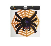 Spookily Does It Decorative Spider Web Hanging Decoration