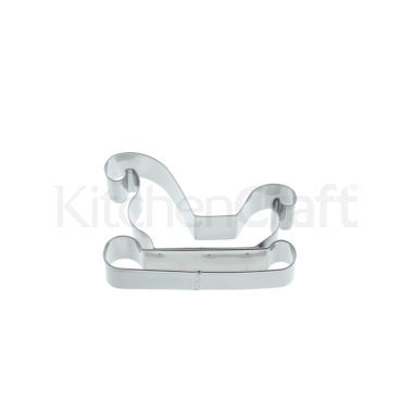 KitchenCraft 12cm Sleigh Shaped Cookie Cutter