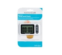 KitchenCraft Electronic Digital Dual Setting Timer & Clock