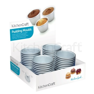 Espositore per  32 mini stampi per pudding
