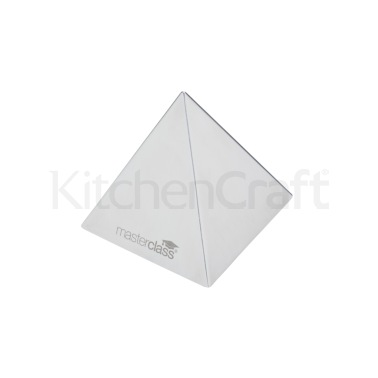 MasterClass Stainless Steel Food Pyramid Mould