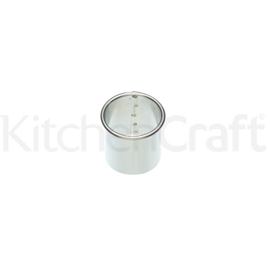 Kitchen Craft Plain Edged 30mm Stainless Steel Pastry Cutter