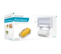 Kitchen Craft Cling Film, Foil and Kitchen Towel Dispenser