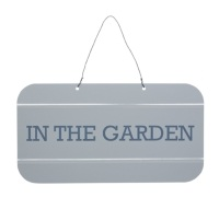 Living Nostalgia Decorative Vintage Garden Sign
