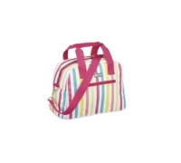 Coolmovers 11.5 Litre Multi Stripes Holdall Style Cool Bag