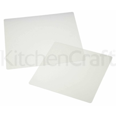 KitchenCraft Set of 2 Microwave Covers