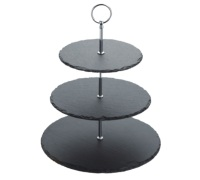 Master Class Appetiser Slate 3 Tier Serving Stand
