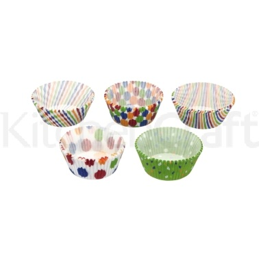 Sweetly Does It Pack of 250 Assorted Kaleidoscope Cake Cases