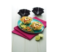 KitchenCraft Mexican Set of 4 Tortilla Pans