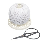 Kitchen Craft Cast Iron String Reel with Scissors