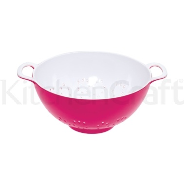 Colourworks Small Pink Melamine Colander
