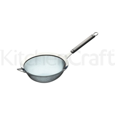 KitchenCraft Oval Handled Professional Stainless Steel 18cm Sieve