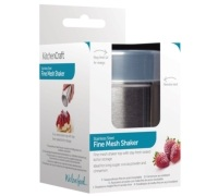 KitchenCraft Stainless Steel Fine Mesh Shaker and Lid