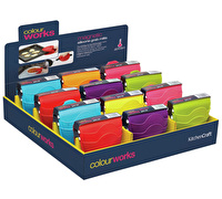 Colourworks Display of 24 Silicone Grab Mitts