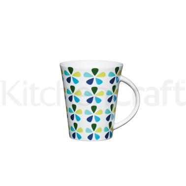 Kitchen Craft Fine Porcelain Petal Mug