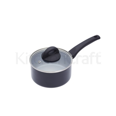 MasterClass Ceramic Non-Stick Induction Ready 16cm Saucepan