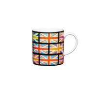 KitchenCraft 80ml Porcelain Union Flag Espresso Cup