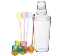 Bar Craft 13 Piece Cocktail Shaker Set